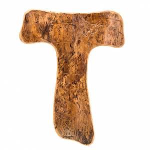 Bright olive wood bark tau cross s1