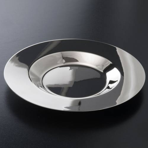 Brocca per manutergio ottone argentato un piatto s2
