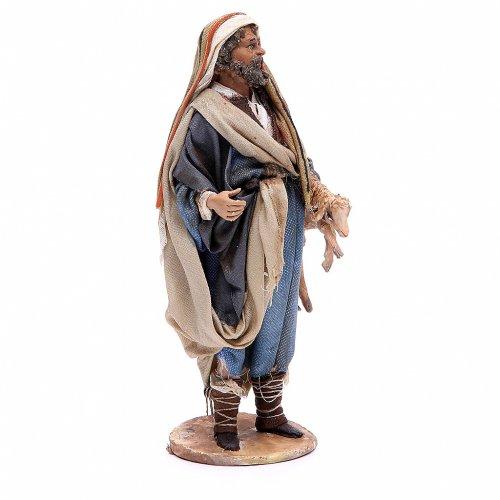 Buon pastore 18 cm Angela Tripi terracotta s4