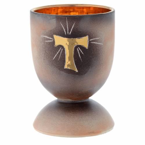 Calice ceramica piede tondo Tau s1