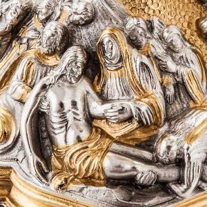 Calice et ciboire en fusion déposition du Christ s9