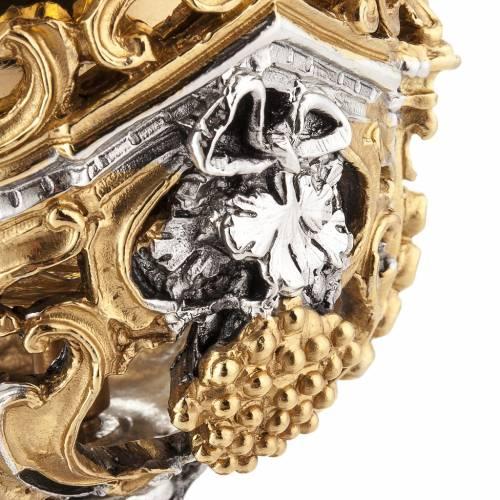 Cáliz plata y Copón dorado y plateado natividad s11