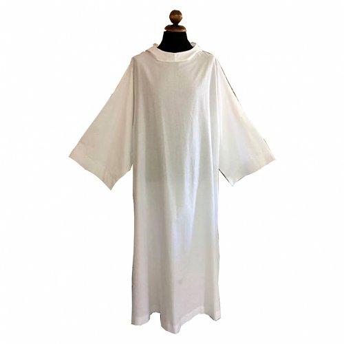 Camice monastico in lino s1