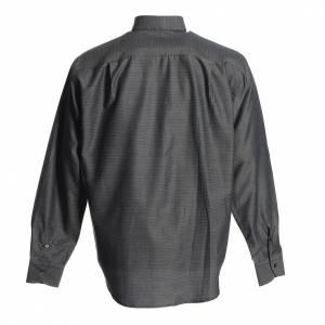 Camicie Clergyman: Camicia clergy cotone poliestere grigio