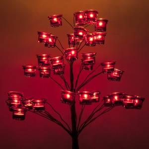 Candélabre porte-lampe en arbre s3