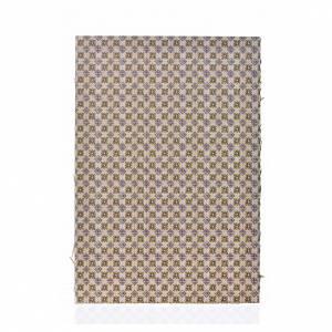Accessori presepe per casa: Cartoncino doppio pavimento fiori 24X16,5 cm