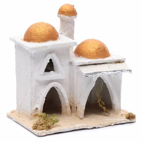 Casa araba bianca 15x15x10 cm s3