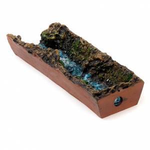 Bomba de agua y motores para movimientos: Cascada para el pesebre de 17 cm.  con bomba de agua.