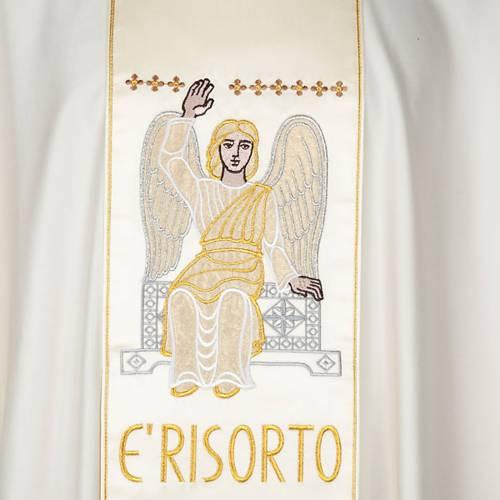 Casula con stolone angelo e Resurrezione s4