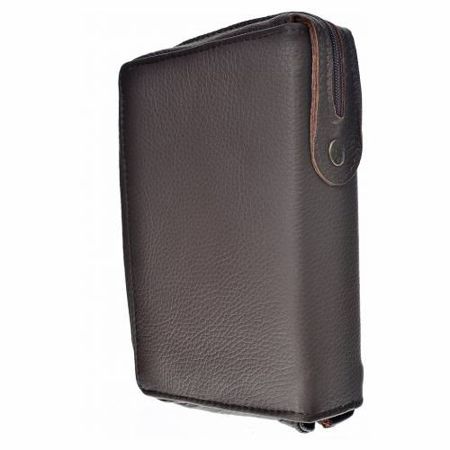 Catholic Bible cover in genuine leather s2
