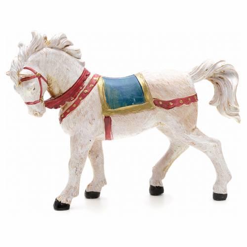 Cavallo bianco 12 cm Fontanini s3