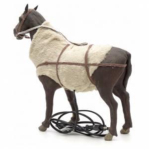 Cavallo in movimento 24 cm presepe napoletano s2