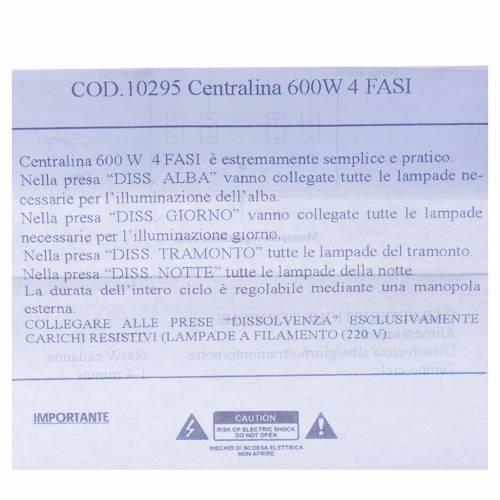 Centralina presepe 600W 4 Fasi s5