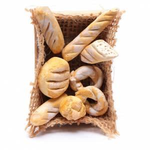 Belén napolitano: Cesta de pan accesorio pesebre napolitano Hecho por Tí