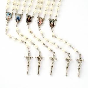 Chapelet avec perles, images, diam. 20 cm s1