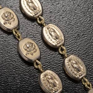 Chapelet Ghirelli doré Notre Dame de Guadalupe 9mm s5