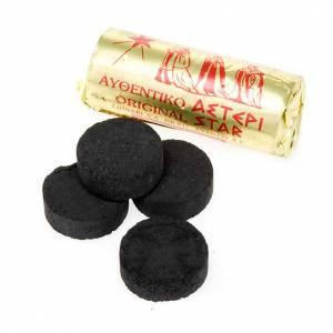 Incense charcoals: Charcoals, 3.5 cm diameter