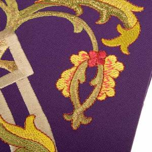Clergy stole with IHS embroidery 4 colors s5