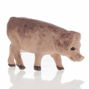 Cochon décor crèche napolitaine 12 cm s1