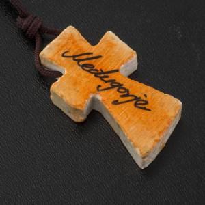 Chapelets et boîte chapelets: Collier croix peinte
