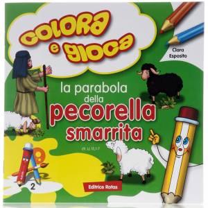 Libri per bambini e ragazzi: Colora la parabola della Pecorella Smarrita