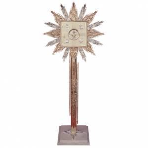 Tabernacles: Column for Tabernacle bicolor brass, marmor base