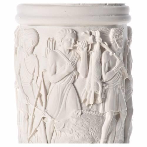Columna para estatuas, 80 cm, mármol sintético s5