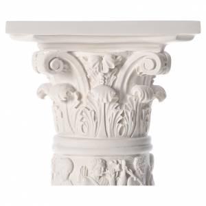Columna para estatuas, 80 cm, mármol sintético s4