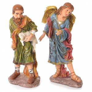 Complete nativity set in resin, 11 figurines 53cm s4