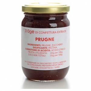 Confiture de prunes 310 g Carmélites s1