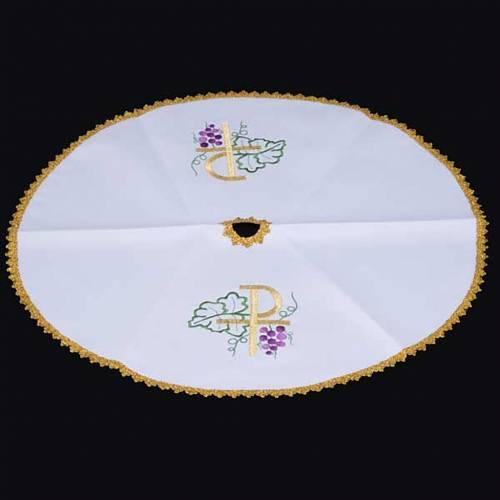 Conopeo tessuto bianco tonda XP uva 3
