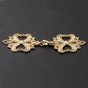 Cope Clasp in golden silver 800 filigree s3