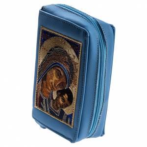 Custodie lit. ore 4 vol.: Copertina 4 vol. azzurra Madonna con bambino