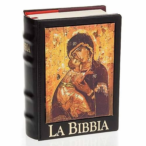 Copertina Bibbia Gerusalemme  vera pelle icona s3