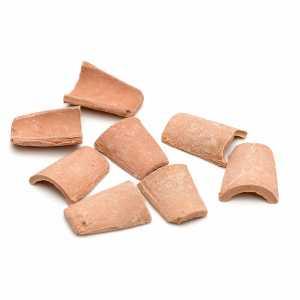 Accessori presepe per casa: Coppi in resina cm 1,5x1