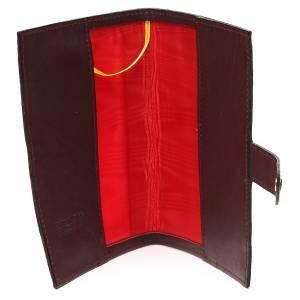 Couv. Lit. Heures 4 vol. cuir brun foncé Jean-Paul II s5