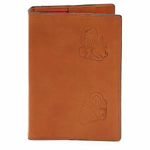 Couverture Bible Jérusalem 4 Évangélistes cuir brun s1