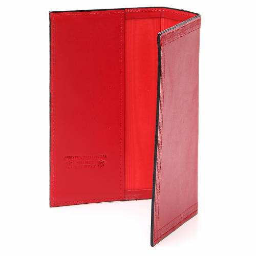 Couverture Lit. Vol. unique cuir rouge Vierge s3