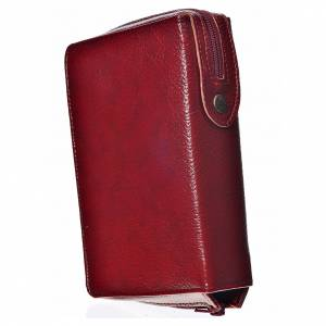 Divine Office covers: Cover for the Divine Office in burgundy bonded leather