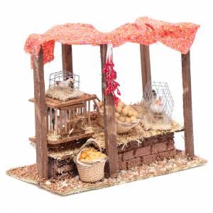 Animals for Nativity Scene: Crib henhouse 15x20x10 cm