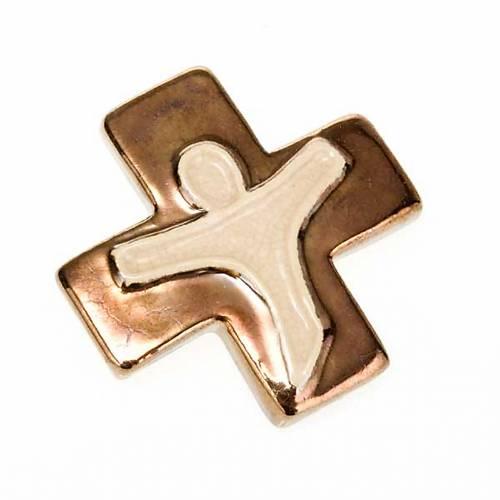 Croce crocefisso stilizzato s8