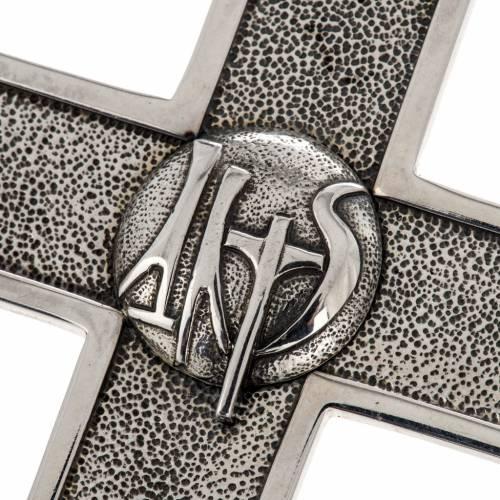 Croce vescovile Anno della Fede argento 925 s2