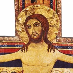 Crocifisso legno San Damiano misure diverse s5