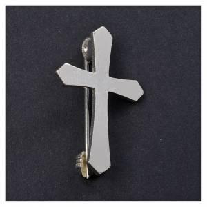 Croix de Clergyman: Croix de clergyman argent 800 broche
