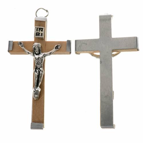 Croix en bois 5,7 cm bois naturel s1