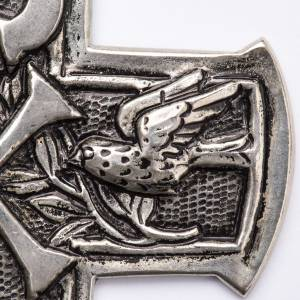 Croix pectorale en argent 800 Chi-Rho s2