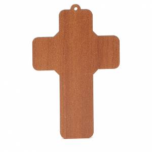 Croix pvc pénitence 13x8,5 cm s2