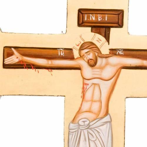 Croix taillé, icône peinte,Grèce s2