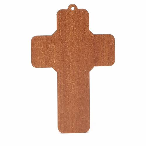 Cross pvc Penance with greeting card ITALIAN s2