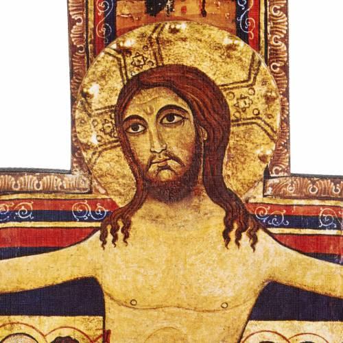 Crucifijo de madera San Damian diferentes tamaños s5